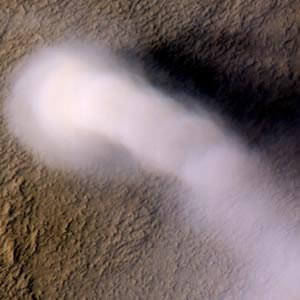 Mars'ta hortum