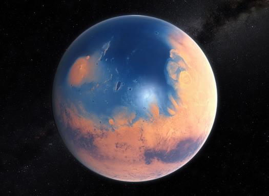 Mars: Bir Okyanus Kadar Su Kaybeden Gezegen