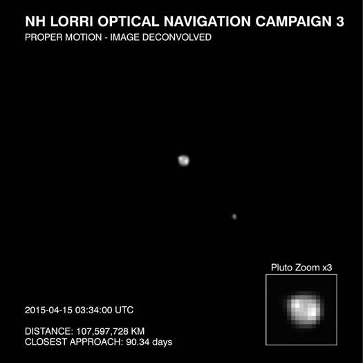 Yeni Ufuklar'dan Yeni Pluto Görüntüsü