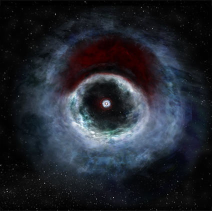 İkili Yıldız Çevresinde Gezegen Oluşumu