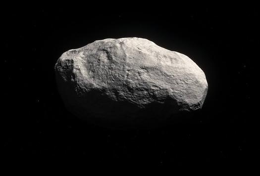 Keşfedilen bozulmamış kuyruksuz kuyrukluyıldızın temsili resmi (ESO/M. Kornmesser).